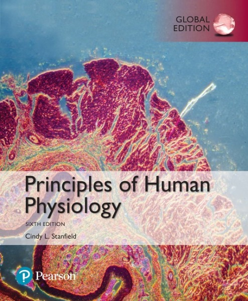 Principles of Human Physiology, Global Edition   Edition 6   9781292156491   eBook of 9781292156484   Access code