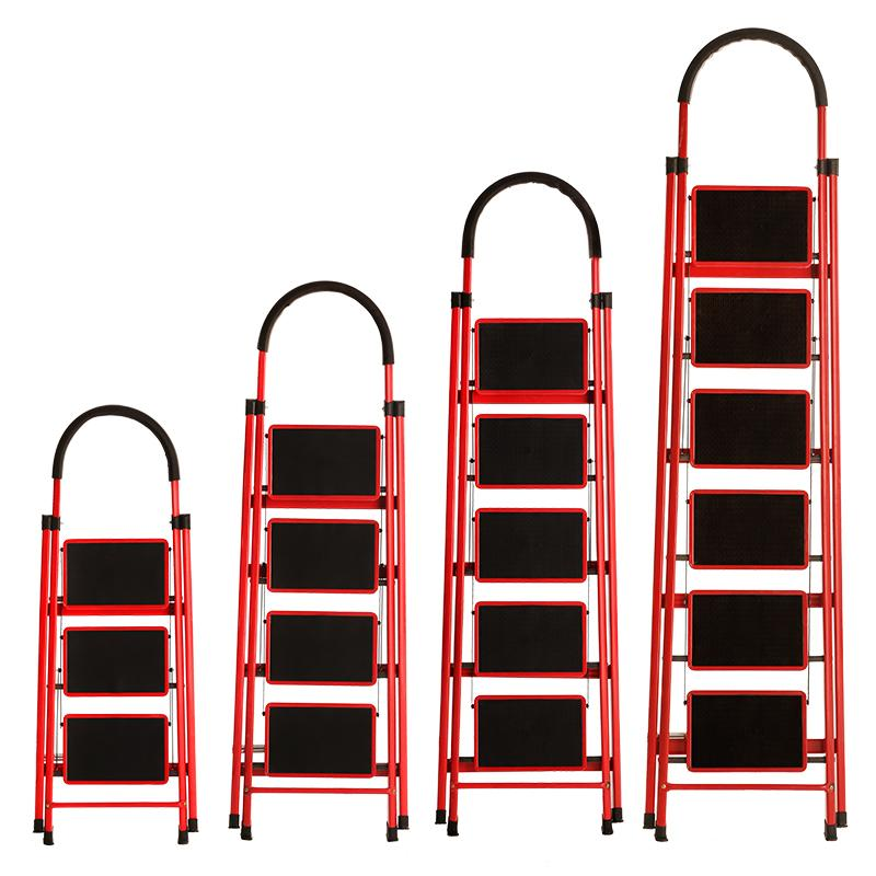 RC-Global Ladders / Household Ladders / step ladders / Ladder ( 2-6 steps, Carbon steel) 家用人字梯 3-6 步梯