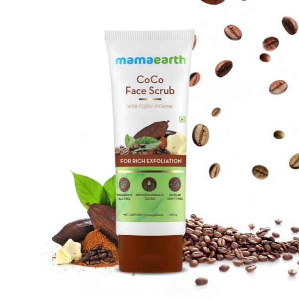 Buy MamaEarth Coco Face Scrub With Coffee & Cocoa, 100ml For Rich Exfoliation Singapore