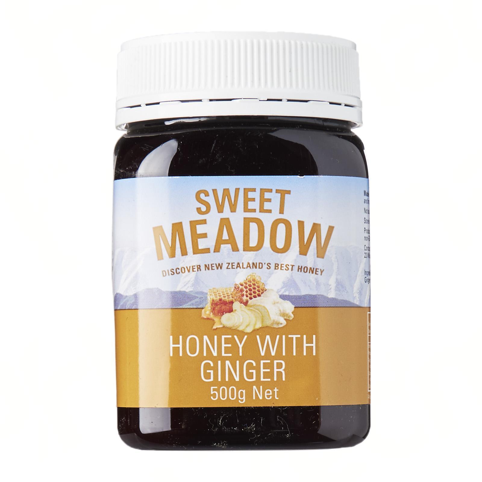 SWEET MEADOW Honey W/ Ginger 500g