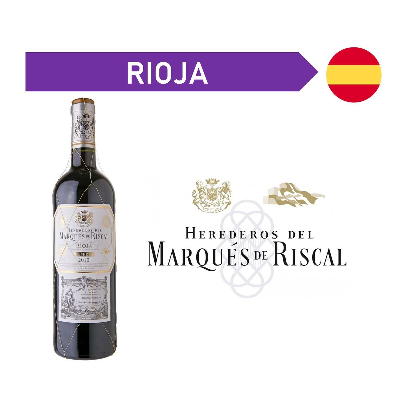 Marques De Riscal Reserva Rioja Tempranillo