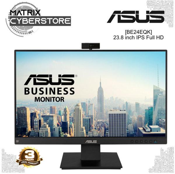 ASUS BE24EQK Business Monitor 23.8 inch, Full HD, IPS, Frameless, Full HD Webcam, Mic Array, Flicker free, Low Blue Light, HDMI