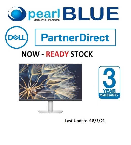 [PRE ORDER] Dell S Series 27 Monitor - S2721DS | 27 lifestyle-inspired QHD monitor with outstanding visuals for an amazing entertainment experience.