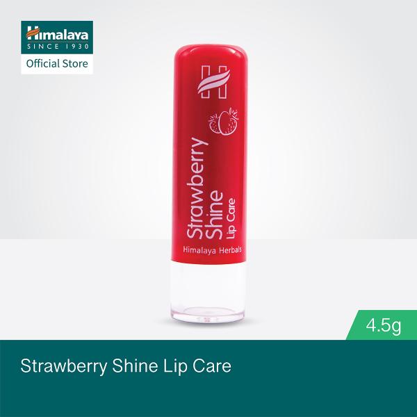 Buy (Bundle of 4) 4.5g Himalaya Strawberry Shine Lip Care Singapore