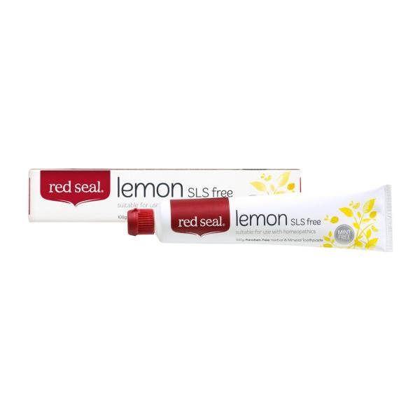 Buy [ Bundle of 2 ] Red Seal Natural Lemon SLS free Toothpaste - by Optimo Foods Singapore