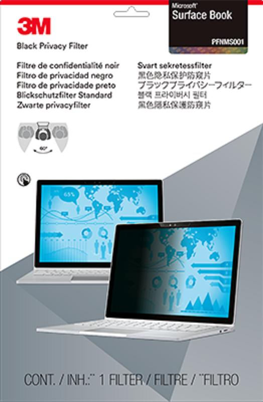 3M™ Privacy Filter for Microsoft® Surface® Book (PFNMS001) - 308 mm (W) x 216 mm (H)
