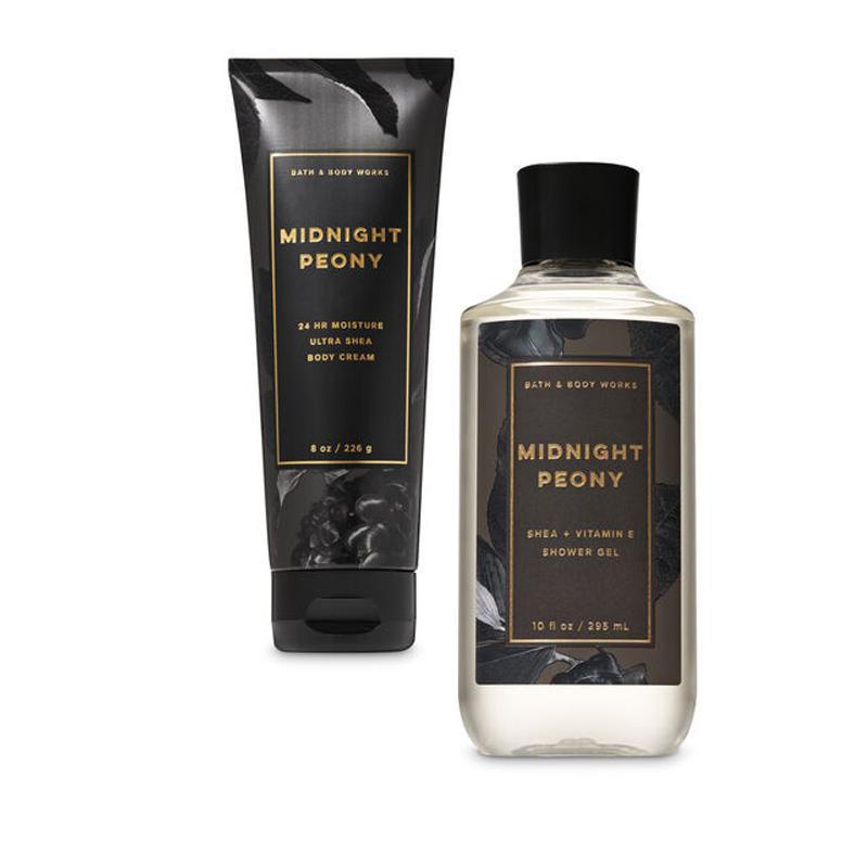 Buy Bath & Body Works : BUNDLE DEAL!!! Midnight Peony - Shower Gel and Ultra Shea Body Cream - Bath and Bodyworks - BBW Singapore