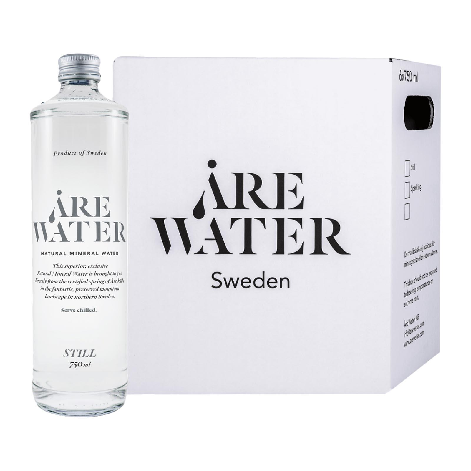 Are Water Natural Mineral Water Still - Glass Bottles - Case
