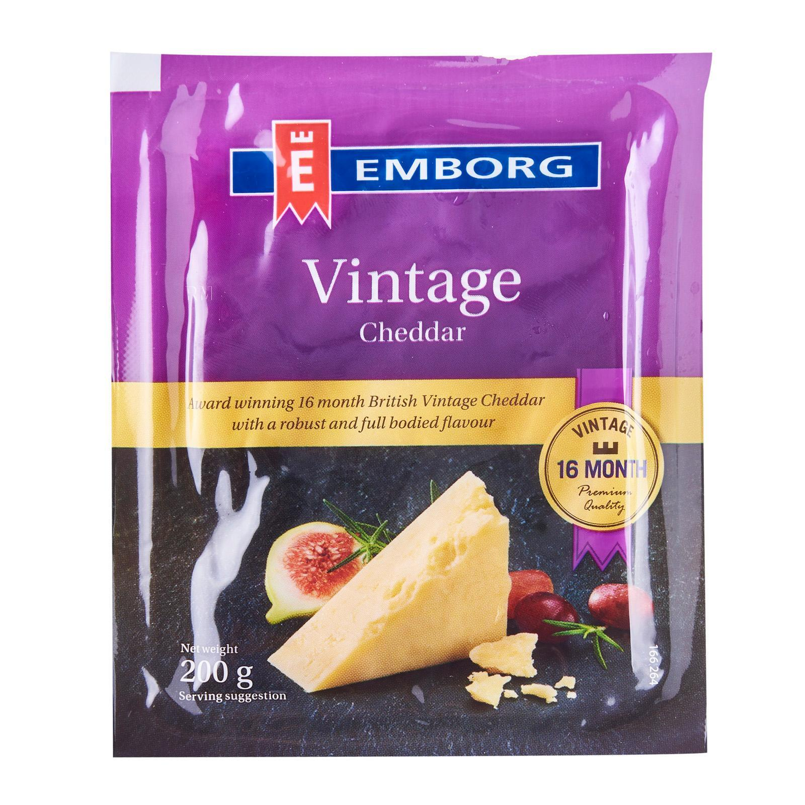Emborg Vintage Cheddar Cheese