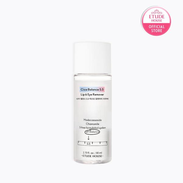 Buy ETUDE Cica Balance 5.5 Lip and Eye Remover 80ml Singapore