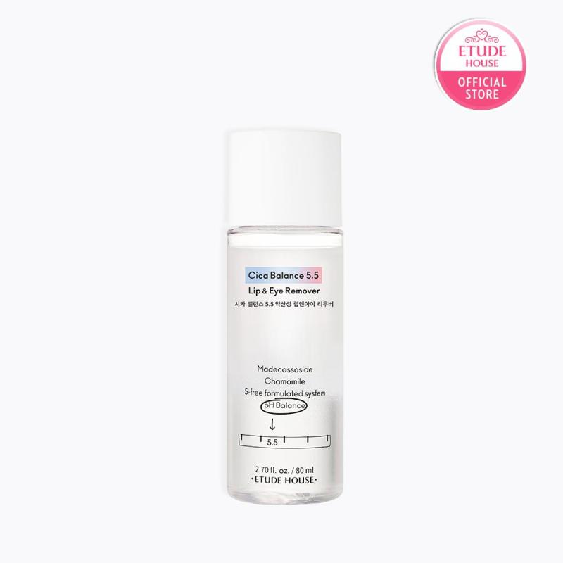 Buy ETUDE Cica Balance 5.5 Lip and Eye Remover 80ml Singapore