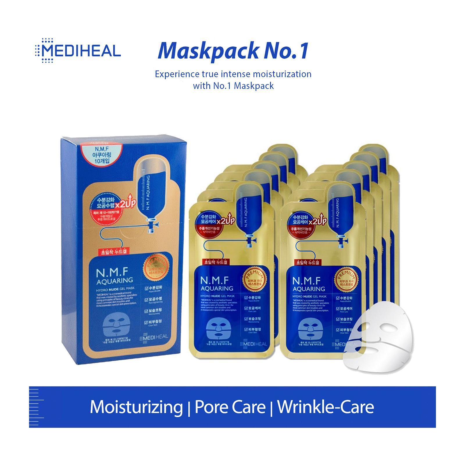 Mediheal Nmf Hydro Nude Gel Mask Box