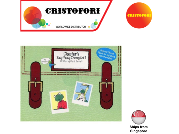 Chesters Easy-Peasy Theory Book Set 2 of 3 (written by Carol Barratt)
