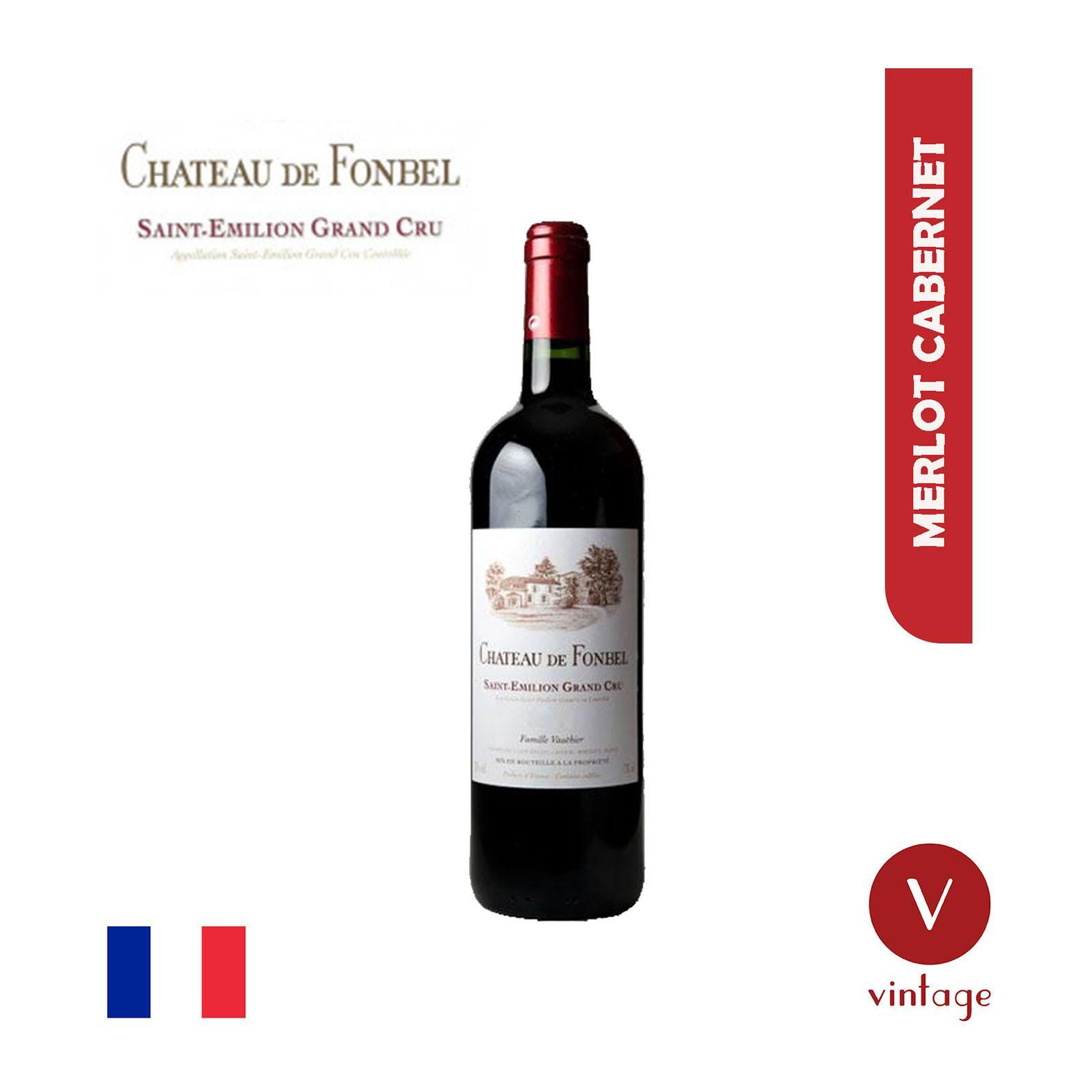 Chateau Fonbel - Red - Bordeaux - Saint Emilion - 2011 - By The Vintage Wine Club