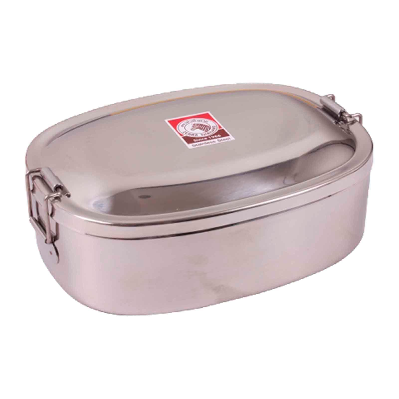 Zebra Stainless Steel Lunch Box 15Cm - By ToTT