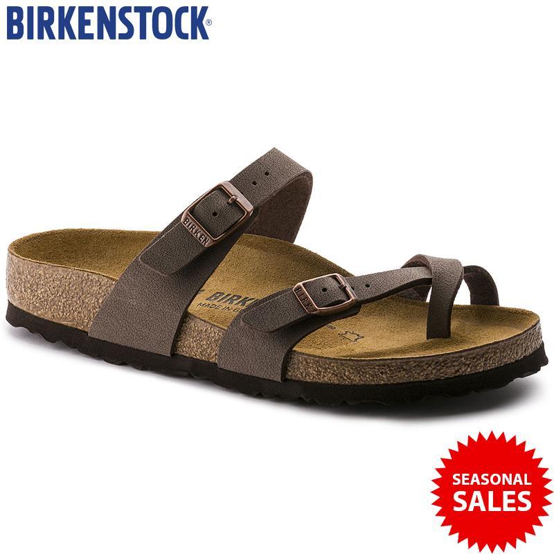 df5ed50caa52 Birkenstock Birko Flor Nubuck Mayari Soft Leather Mocca Colour Sandals  (100% Brand new &