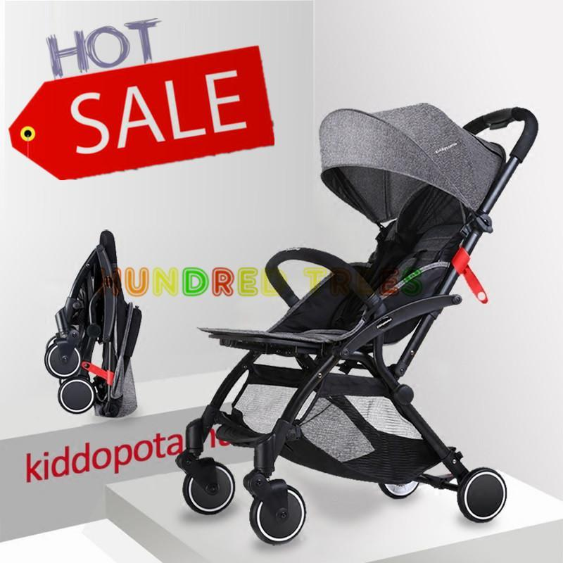 Hot sales ★ KIDDOPOTAMUS BABY STROLLER ★Baby Travel Stroller Easy for Travel Foldable Pram Singapore