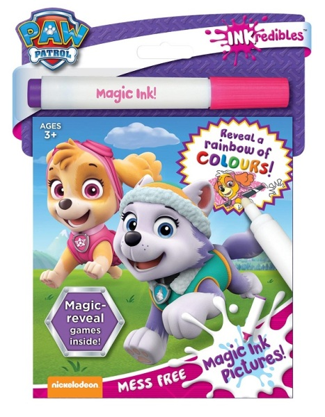 Inkredibles Magic Ink Pictures: Paw Patrol / English Toddler Books / Activity Books / (9781488912528)