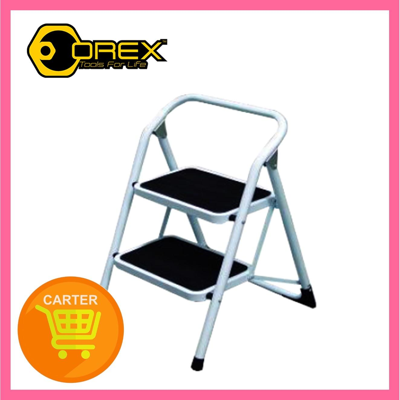 Orex Steel Stool Ladder (New),2 Steps