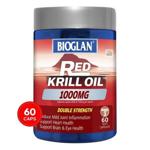 Buy Bioglan Red Krill Oil Double Strength 1000mg 60 Capsules April 2023 Singapore
