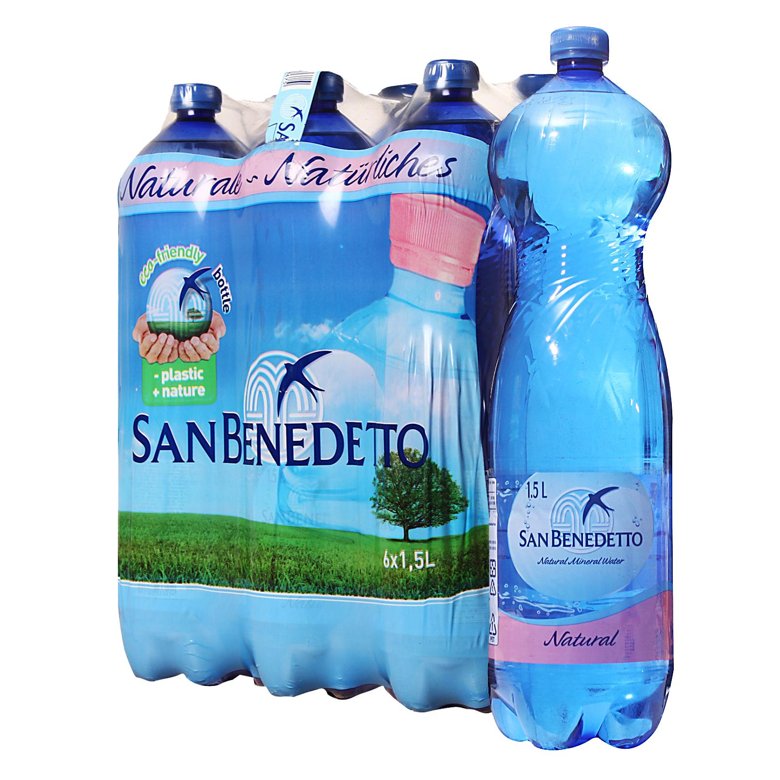 San Benedetto Natural Mineral Water - Case