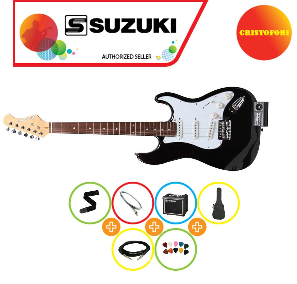 Suzuki Sst-1 Package Electric Guitar (japans No. 1 Music Educational Brand) By Cristofori Music