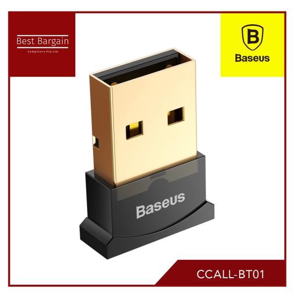 Baseus Bluetooth Adaptors For Computers Black CCALL-BT01