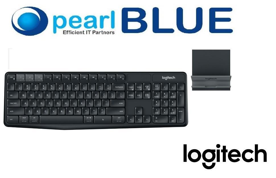 Logitech K375s Multi-Device BT & Wireless Keyboard and Stand Combo Singapore