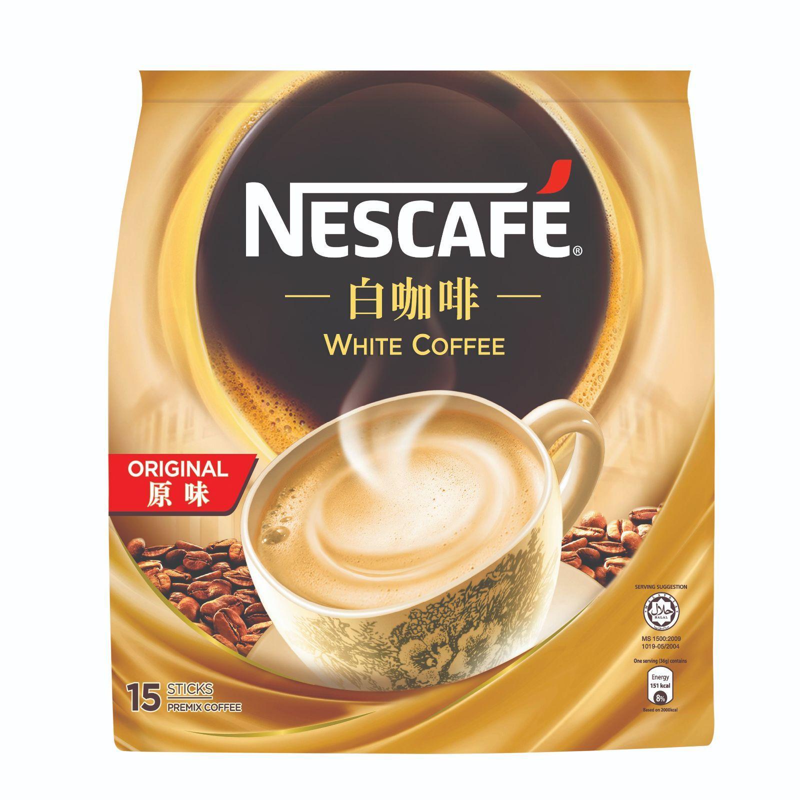 Nescafe Instant White Coffee - Original