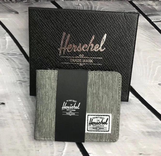 Herschel Light Grey Wallet