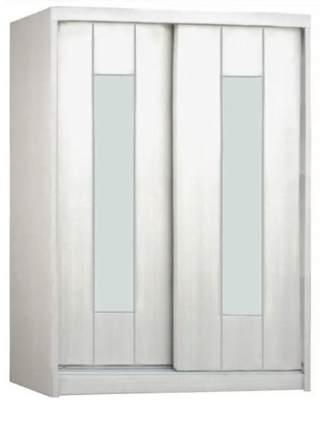 [A-STAR]  5FT Sliding Door Wardrobe Cabinet (WhiteWash)