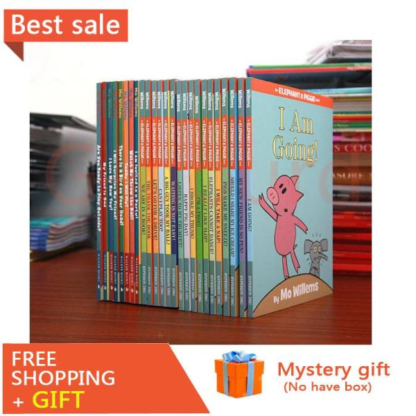 Piggy elephant series English picture book early childhood education enlightenment puzzle reading English picture book story book 25volumes