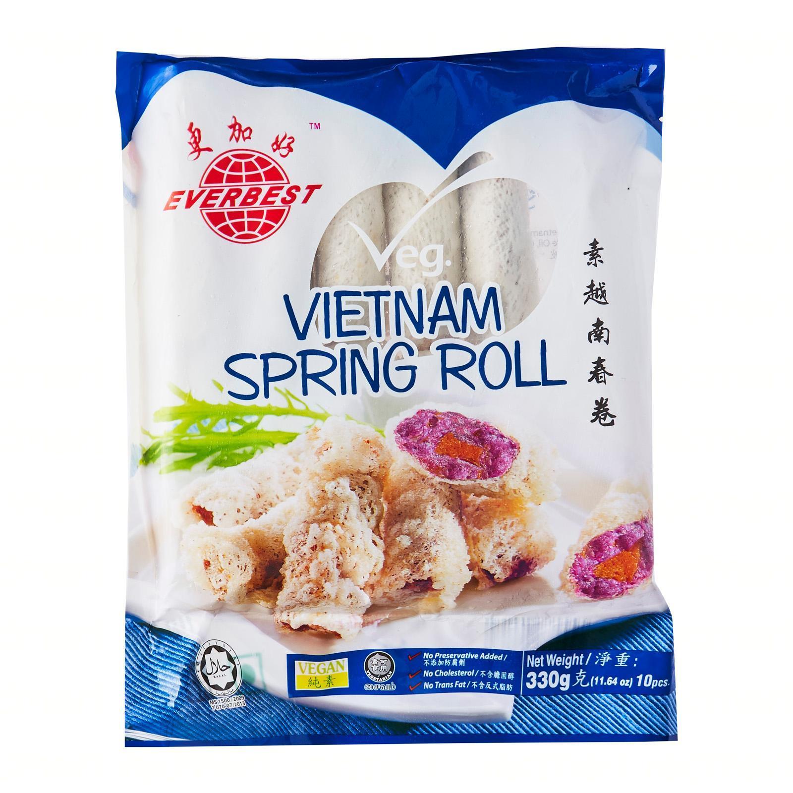 EB Vegetarian Vietnam Spring Roll - Frozen