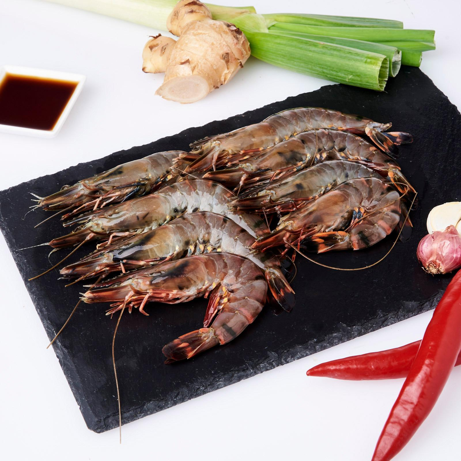 Serve By Hai Sia Seafood - Fresh Serve Tiger Prawns By Redmart.