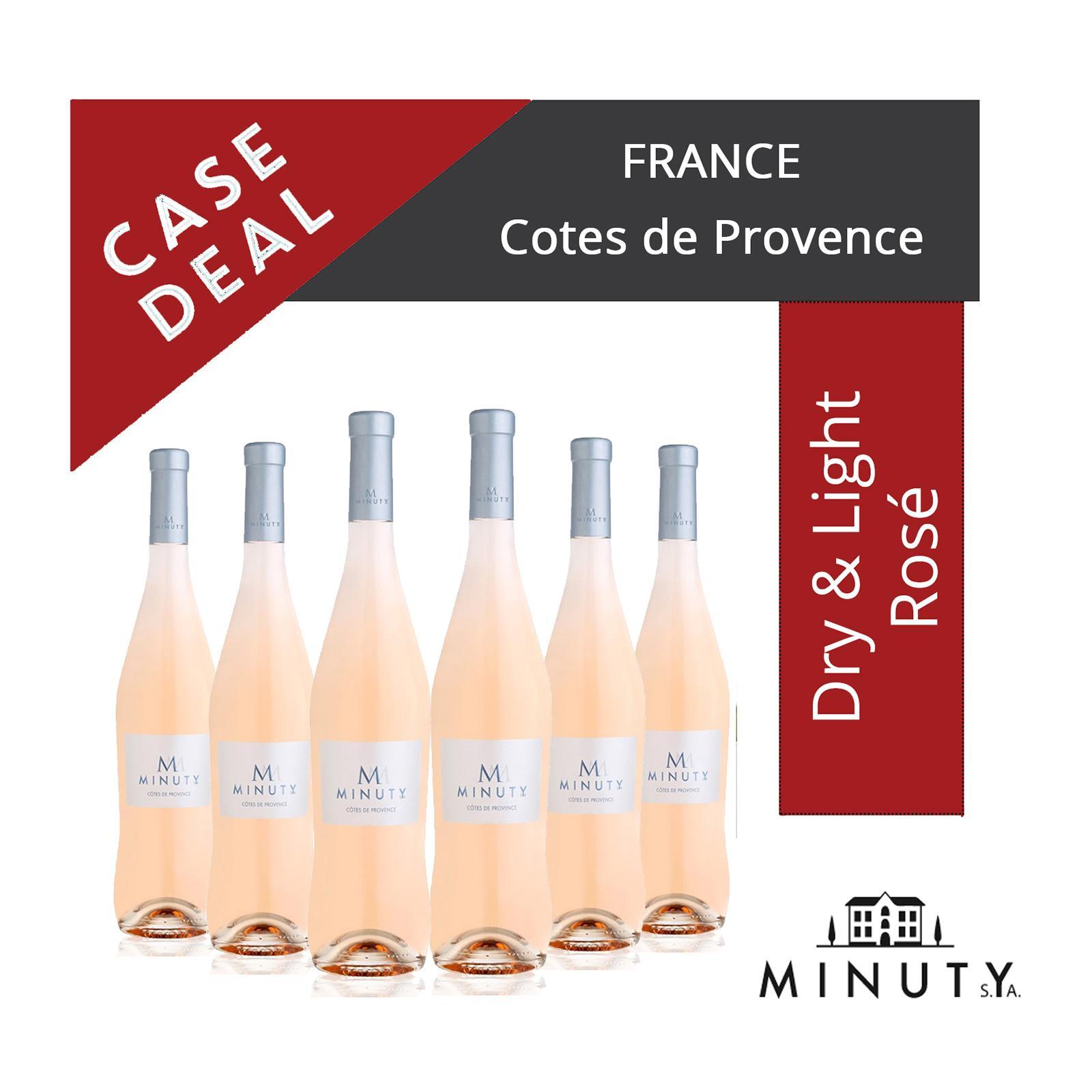 Minuty M de Minuty - Cotes de Provence - Rose Wine