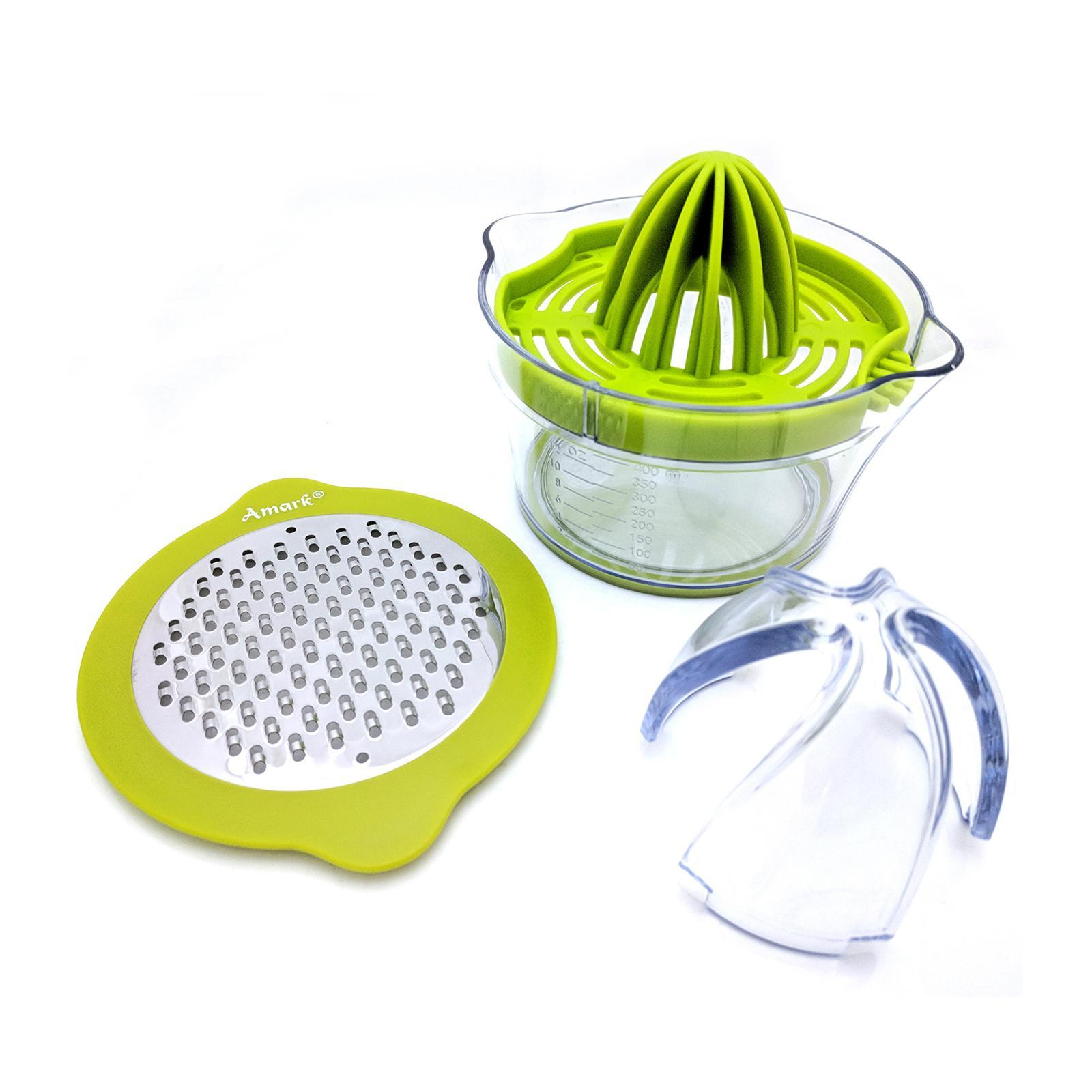 Amark Multifunction 4-In-1 Juicer And Grater