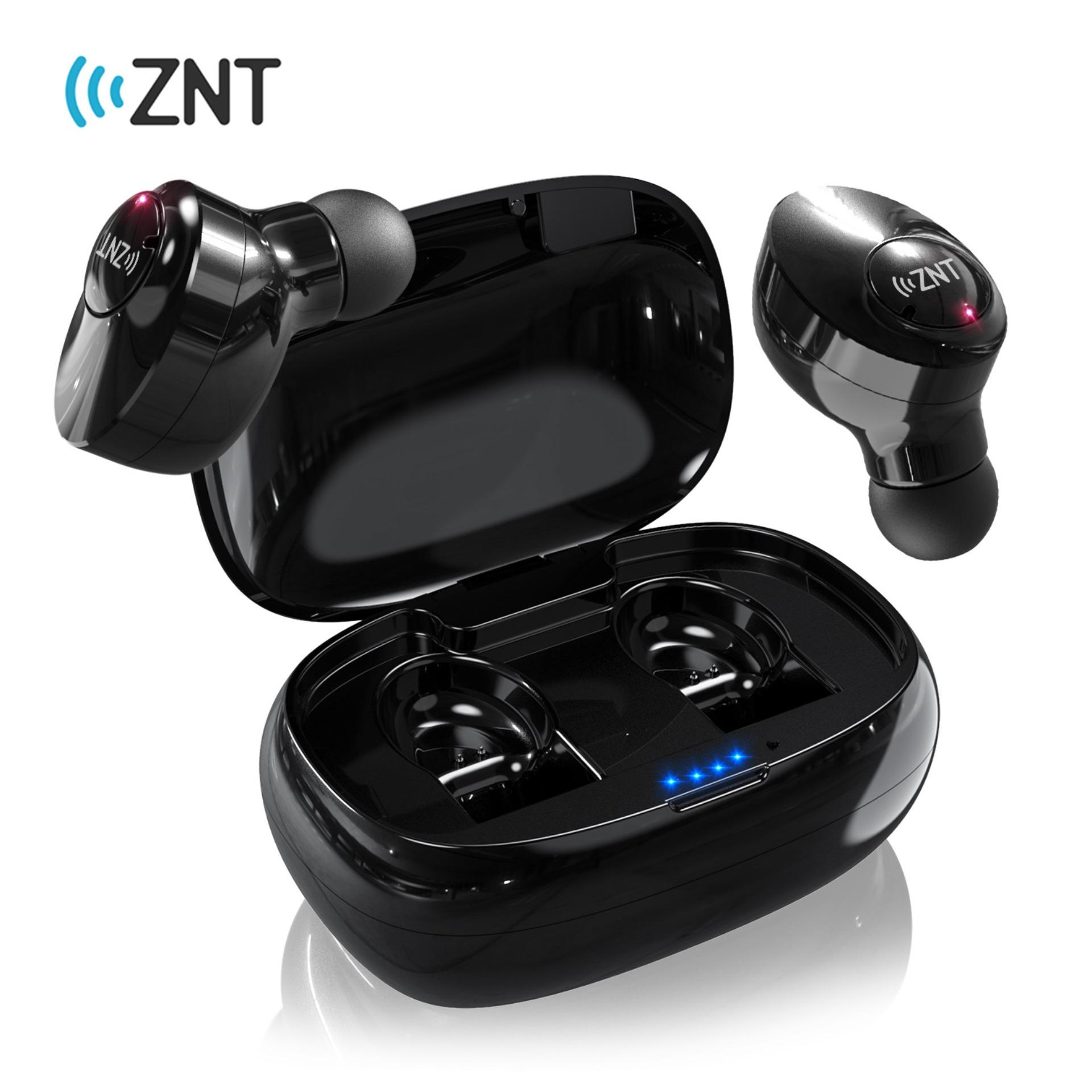 2ebbc427e87 ZNT FireFit Bluetooth 5.0 High Quality Sound True Wireless Stereo Earbuds  Bluetooth Earphone with Charging Case