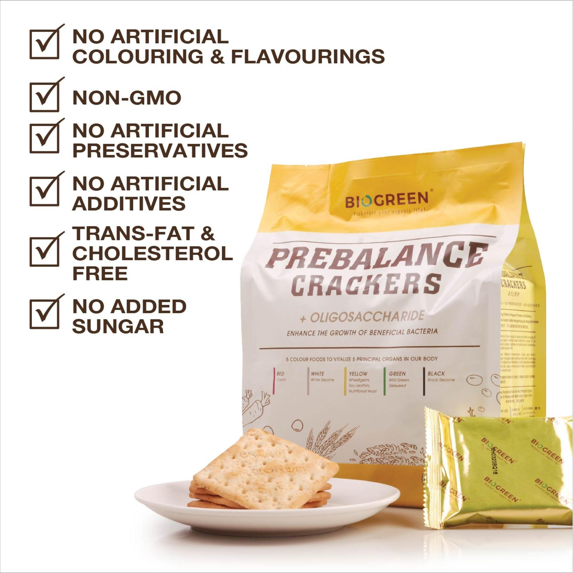 Biogreen Prebalance Crackers (bundle Of 2) By Emil Private Limited.
