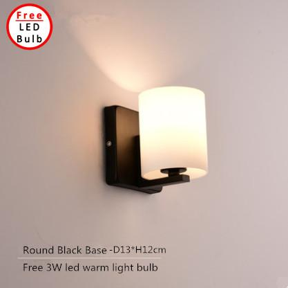 Modern Europe LED Square Wall Lamp Bedside Adjustable Reading Wall Light for Bedroom Living Room Hotel - intl