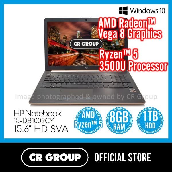 HP Notebook 15-DB1002CY 15.6 Inch | AMD Ryzen™ 5 3500U | 8GB DDR4 RAM | 1TB HDD Storage | AMD Radeon™ Vega 8 Graphics (Official Refurbished)