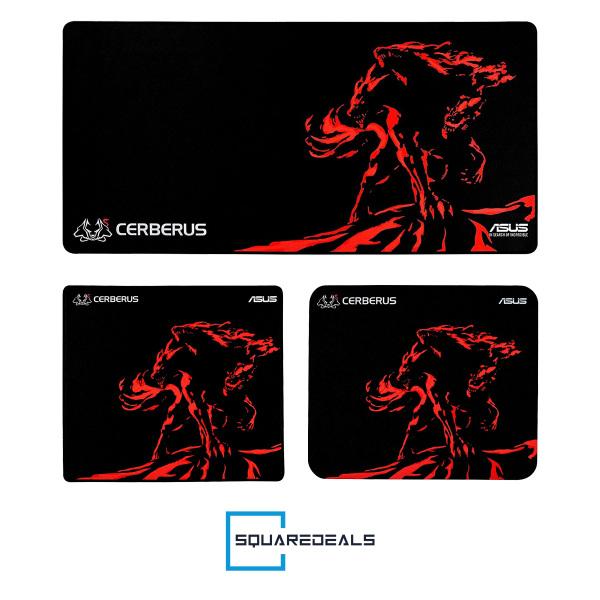 Asus Cerberus Mat Mini Plus XXL Gaming Mousepad RedNon-Slip Rubber All Size
