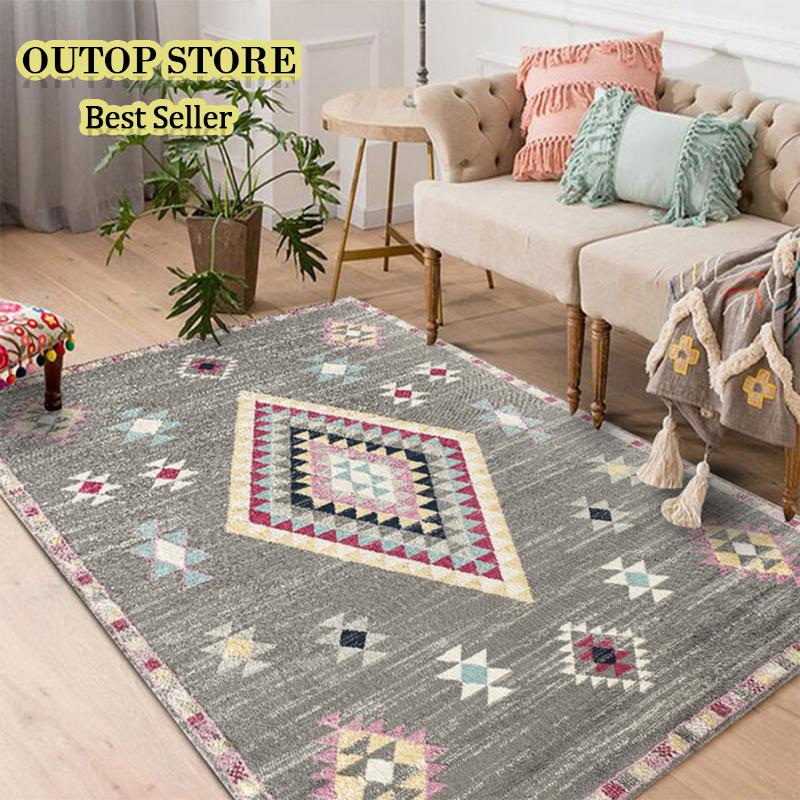 OUTOP Nordic Style Floor Mat Carpet For Living Room Home Decoration Accessories