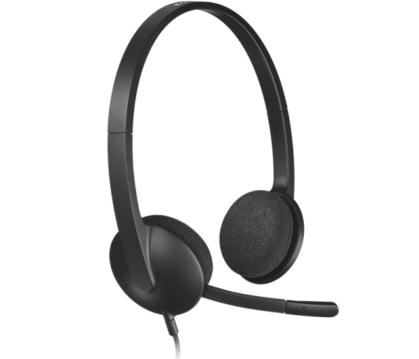 [LOCAL WARRANTY] Logitech H340 USB Headset With Noise-Cancelling Mic l USB Computer Headset With Digital Audio l Logitech H340 l Logitech H340 Headset l H340 l Logitech USB Headset H340 l Headset H340 l Logitech Wired Headset l Wired headphones Singapore