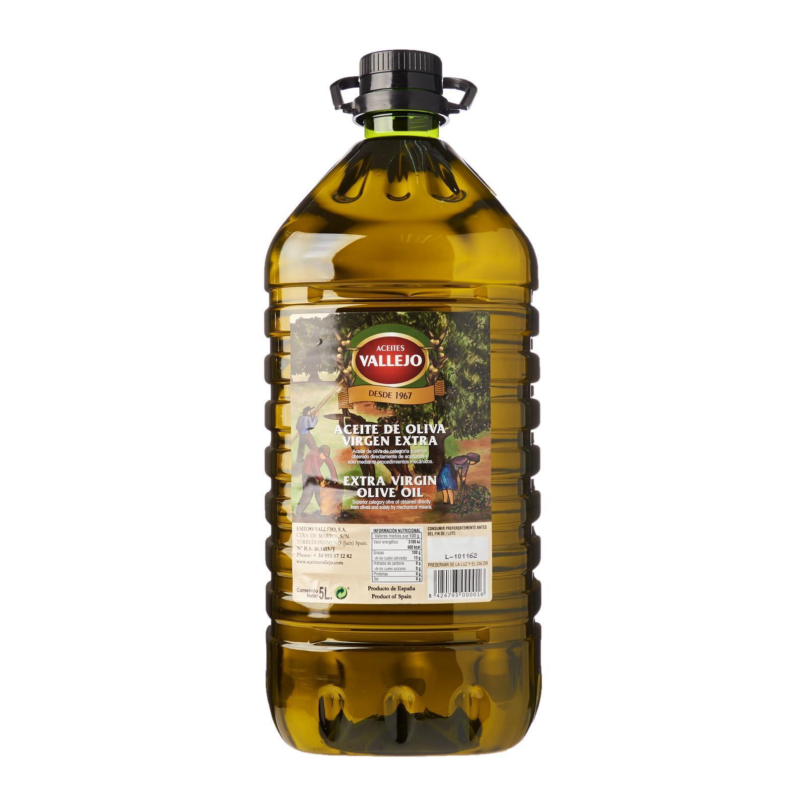 Aceites Vallejo Extra Virgin Olive Oil - The Cellar Door By Redmart.