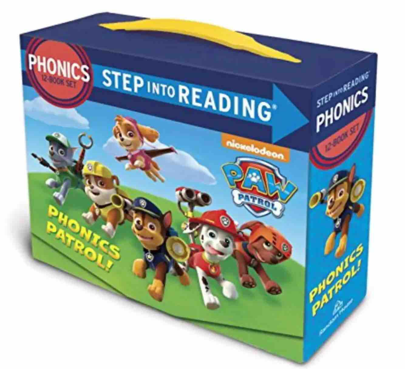 Phonics-Step  into  Reading with PAW PATROL (with  surprised  gift )