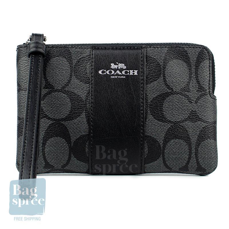 *Authentic & Brand New* Coach Corner Zip Wristlet F54627 F58032 F58035 F67528 F67550 F88095 [Gift Receipt Provided] [TOP PICKS] [NEWIN] [SIG]