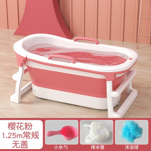 Buy Bath Barrel Adults Foldable Bath plus Size Heighten Bath Bucket Body Khan Steam Bath Basin Bath Bucket Home Tool Singapore