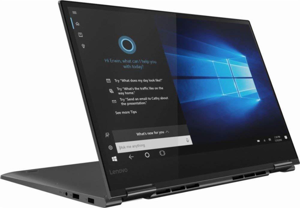 2019 Lenovo Yoga 730 2-in-1 15.6  FHD IPS Touch-Screen LED Flagship Laptop | Intel Quad Core i7-8550U | 16GB DDR4 RAM | 512GB SSD | Backlit Keyboard | Fingerprint Reader | Windows 10