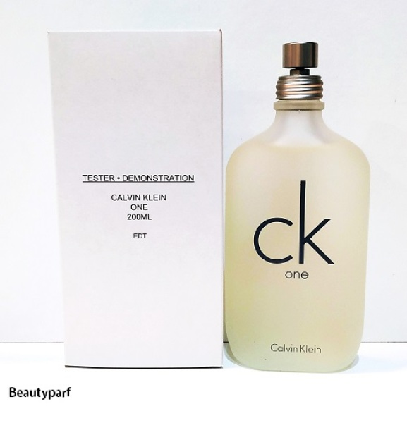 Buy Calvin Klein CK One Edt Sp 200ml [TESTER PACK] Singapore