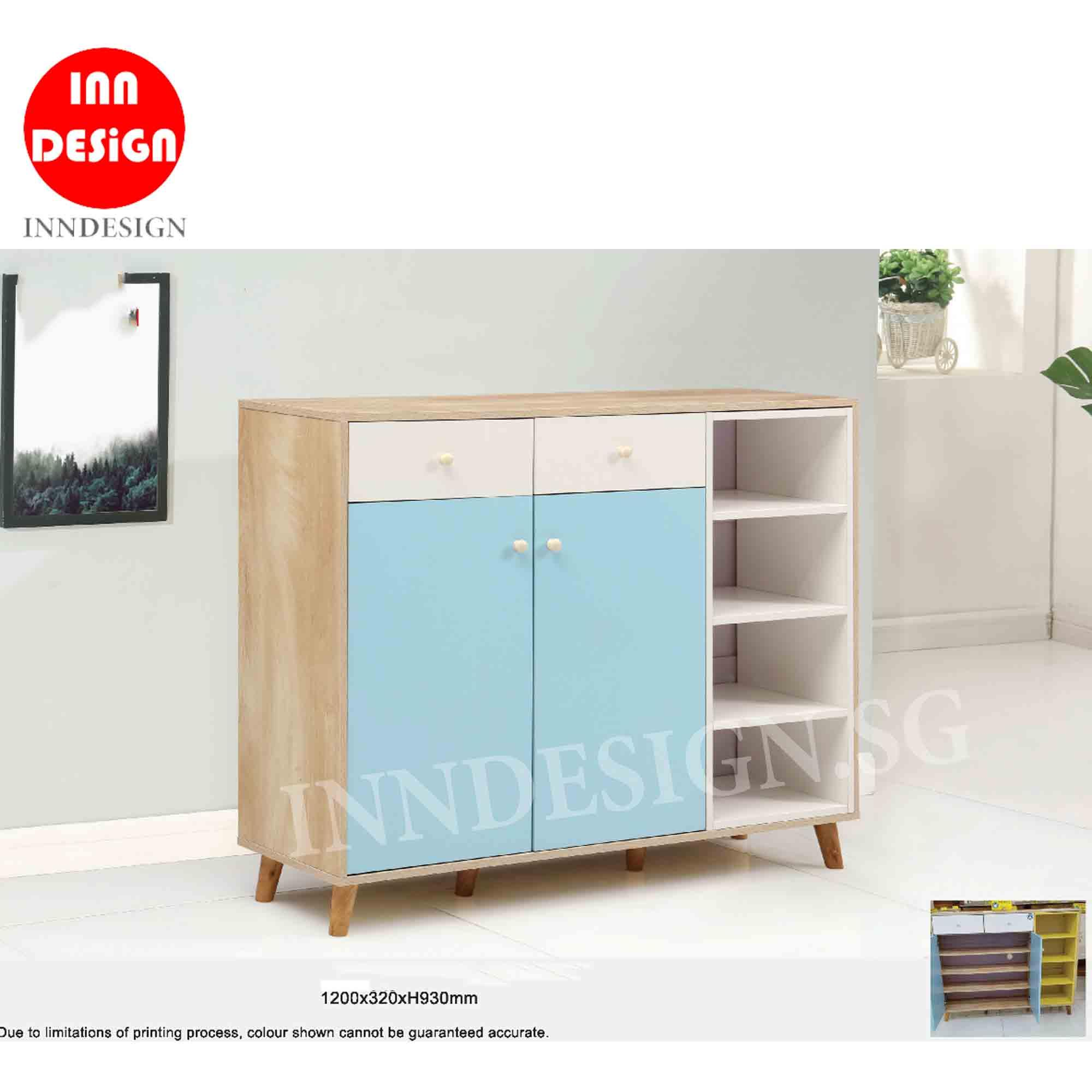 Vella III Shoe Cabinet (Fully Assembled and Free Delivery)